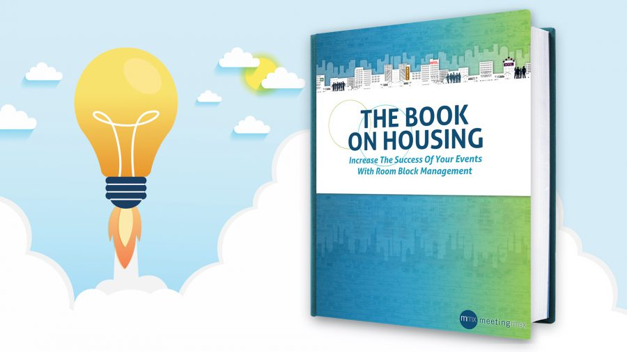 Book on event housing cover