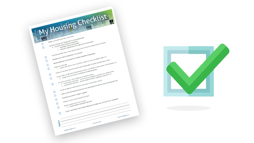 The housing checklist