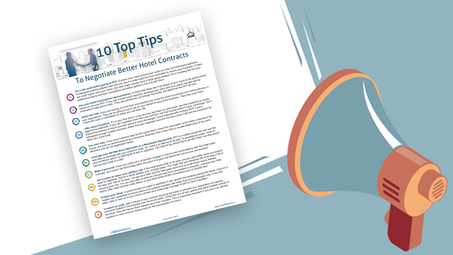 Document showing ten tips