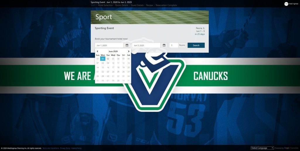 Canucks Branded Sub-Block